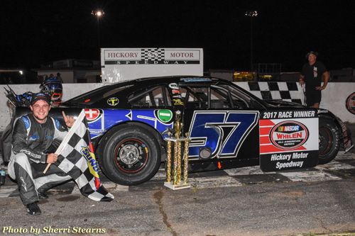 The NASCAR Whelen All-American Series returned to action at Hickory Motor Speedway on Saturday for LiftOne Night at the Races and a full slate of racing.